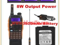 Retevis Ailunce HD1 Digital DMR Radio GPS 10W VHF UHF Dual Band