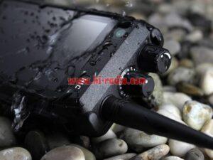 Tri-proof Runbo H1 VHF UHF DMR Radio Phone 4G LTE 4W PTT Analog Digital Walkie Talkie Smart Android Phone