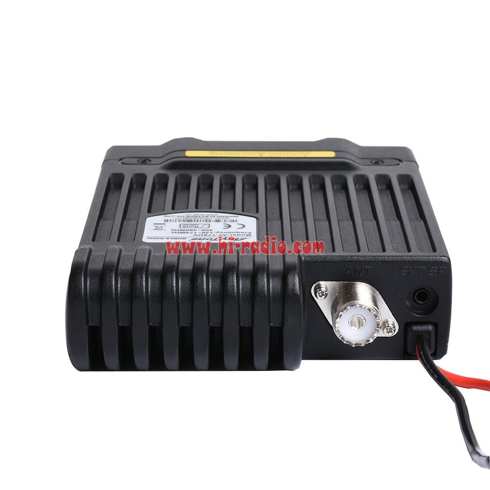 Anytone At 778uv Dual Band Vehicle Mounted Mobile Car Radio 2m 70cm Vhf Amplifier With 30 Watts Power Watt