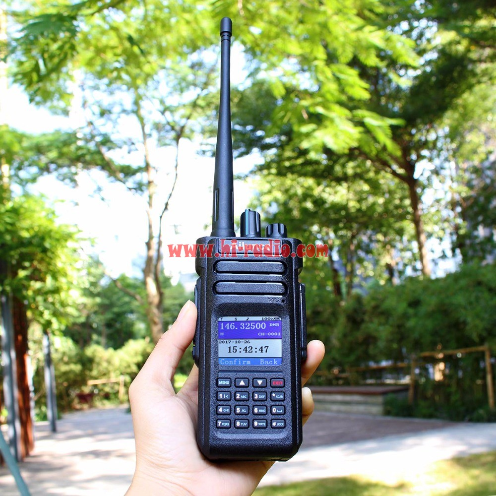 Retevis Ailunce HD1 Digital DMR Radio GPS 10W VHF UHF Dual Band Compatible  with Motorola Tier Ⅰ&Ⅱ