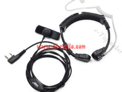 4ft Radiation-proof PTT Air Headset Acoustic Tube For