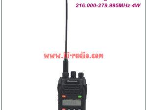 Wouxun Dual Band Radio KG-UVD1P 136.000-174.995MHz & 216.000-279.995MHz Portable FM Transceiver KG UVD1P