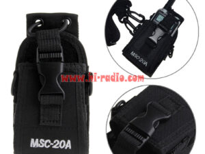 Walkie Talkie Case MSC-20A Holder Pouch Bag For Kenwood BaoFeng UV-5R UV-5RA UV-5RB UV-5RC UV-B5 UV-B6 BF-888S