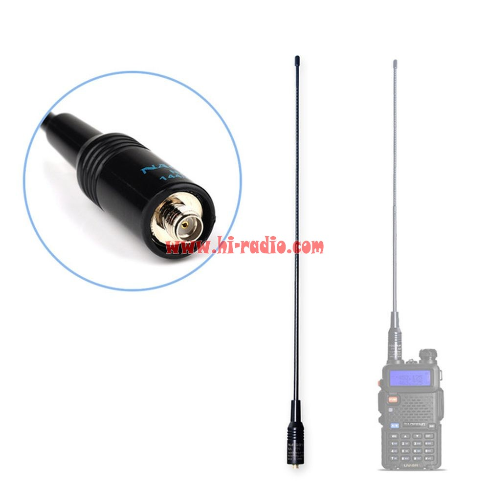 Dual Band Nagoya Na 771 Walkie Talkie Antenna For Baofeng Uv 5r Uv 82 Bf 888s Phone Radio Walkie Talkie