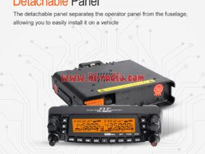 TYT TH-9800 50W Mobile Radio Transceiver VHF UHF Quad Band Car Radio Station CB Walkie Talkie For Truckers