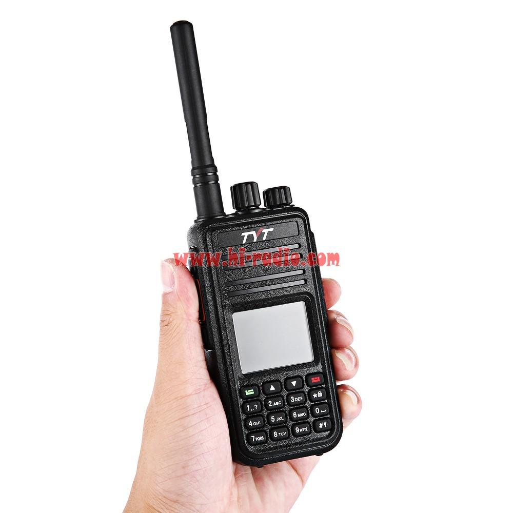 380 DMR UHF 400-480MHz LCD Display Digital Radio Walkie Talkie TYT MD