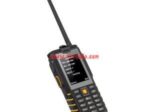 Network Radio Phone ioutdoor T2 UHF Walkie Talkie Rugged Waterproof IP68 GSM 4500mAh