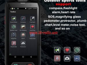 Conquest S11 4G Smartphone POC PTT Zello Rugged Shockproof NFC Fingerprint IP68 6GB 128GB 7000mAh