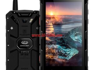 RuggedConquest S8 Android 6.0 4G LTE PTT Walkie Talkie Smart Phone POC NFC IP68 6000mAh