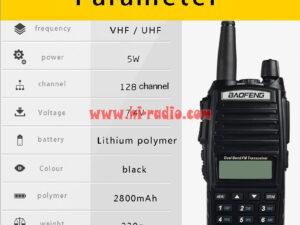 BaoFeng UV-82 Dual-Band 136-174/400-520 MHz FM Ham Two way Radio