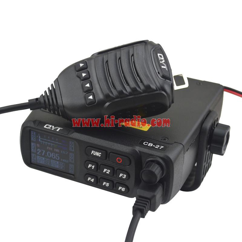 QYT CB-27 CITIZEN BAND Radio All European MULTI-NORMS CB Mobile Transceiver
