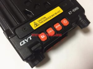 QYT KT8900 Vehicle Mounted Mini Dual Band Mobile Radio Transceiver