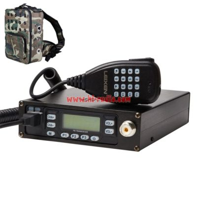 Program Cable USA Dual Band Backpack Mobile Radio UHF VHF Mobile Transceiver