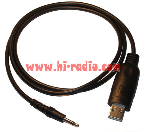 Color: Black Lysee Data Cables USB Programming Cable with CD for ICOM CI-V CT-17 IC-7000 IC-703 IC-706 IC-707 NK-Shopping