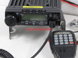 Updated Anytone AT 588 Multiband 220-260MHz / 66-88MHz VHF UHF CB Mobile Radio
