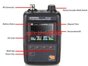 Vector Impedance Antenna Analyzer VHF UHFKVE520A