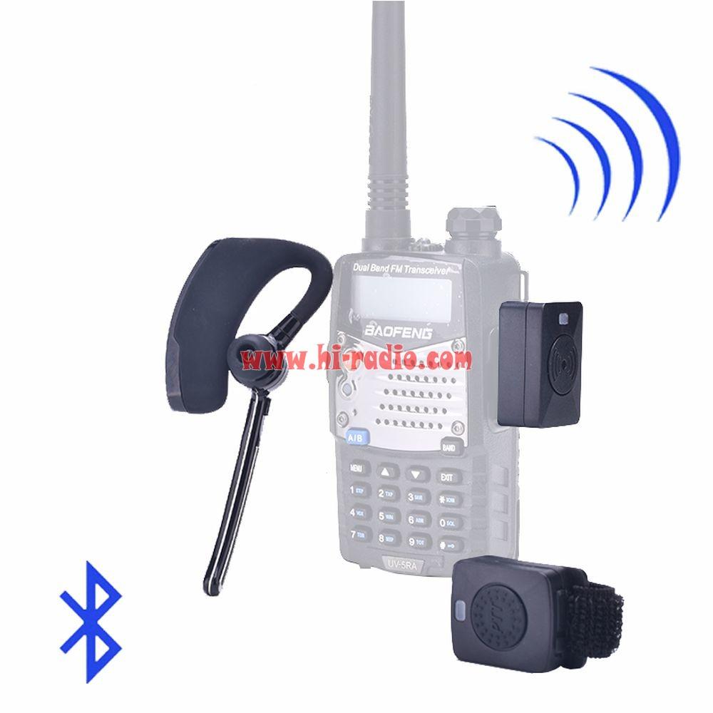 Universal Two Way Radio Wireless Headset Hands-free V3.0