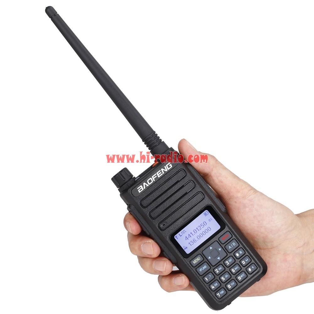 2PCS 2019 Baofeng DM1801 DM-1801 DMR Tier1 Tier2 Tier II Dual Time Slot  Dual Band Digital Radios