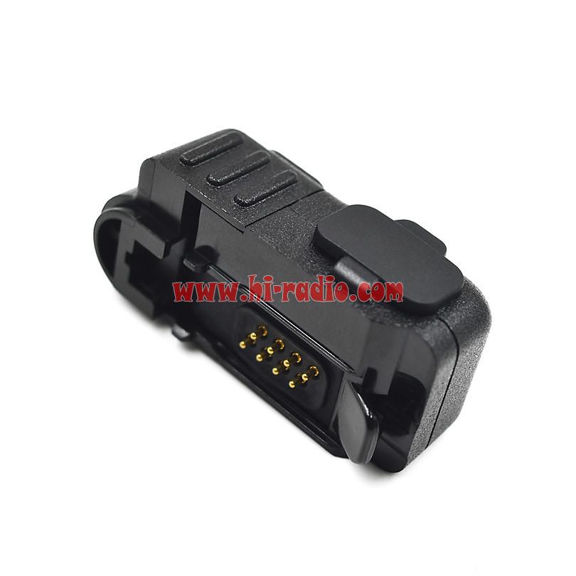 Connector Audio Adapter Converter For Motorola Radio Manual Guide