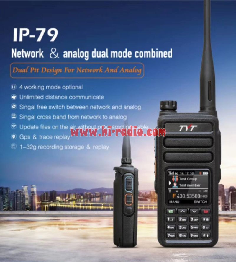 TYT IP-79 Global Communication Dual Mode Network Radio
