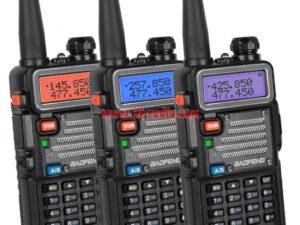 Newest Tri-Band Walkie Talkie Baofeng UV-5RX3 Upgrade Version
