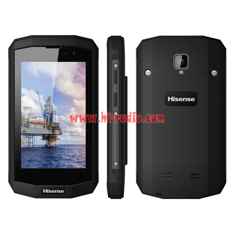 Hisense D5 EX IIC T5 Explosion Proof Mobile Phone 4G LTE Android IP67  Waterproof