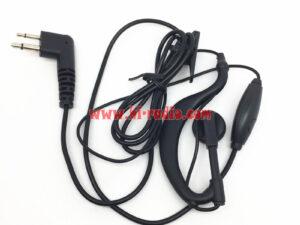 10PCS 2 Pin Headsets for Motorola GP3188 GP3688 GP2000 GP300 GP68 GP88 GP88S etc
