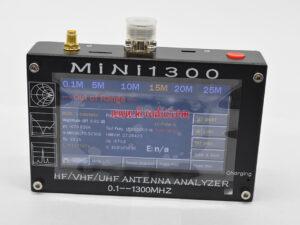 Updated Ver HF VHF UHF Mini1300 Antenna Analyzer
