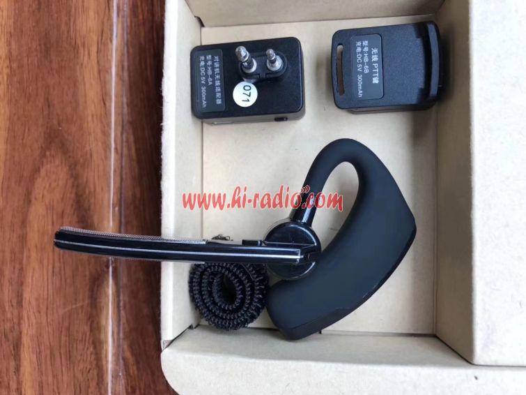 ICOM Bluetooth Wireless Earphone for IC-V8 IC-V82 IC-V85 IC-F21 Walkie  Talkie