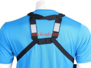 Baofeng TYT Wouxun Motorola Harris PRC-152UV Radios Pocket Rescue Outdoor Chest Pouch