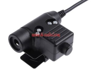 U94 PTT Military Headset Adaptor Cable for Motorola XPR3300 XIR P6600 E8600/8608 MTP3100 MTP3150 MTP3250