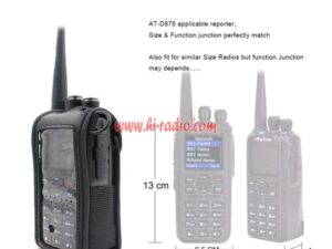 Custmized for Anytone AT-D878UV Plus AT-D868UV DMR Walkie Talkie Soft Case