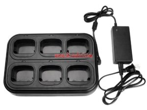 Walkie Talkie 6-way Charger for Baofeng UV-5R UV-9R Plus A58 BF-9700