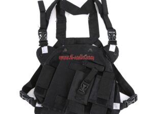 Double Radio Carry Case Rescue Essentials Bags for Baofeng UV-5R UV-82 UV-9R PLUS