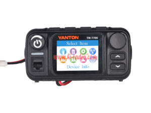 YANTON TM-7700 4G LTE WCDMA GSM IP Network POC Mobile Radio With GPS