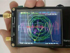Small Portable NanoVNA Antenna Analyzer Short Wave MF HF VHF Vector Network Analyzer