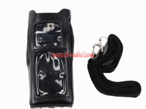 For Motorola MTP3100 MTP3150 MTP3250 Radio Anti-fall Durable Leather Case
