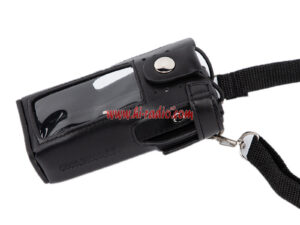 Holster GP338D Anti-fall Durable Leather Pouch For Motorola XIRP8668 P8660 Radios