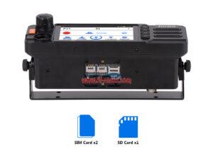 2020 Lastest Inrico TM-9 4G Dual SIM card Network Mobile Radio Phone