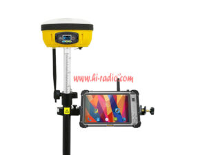 Runbo DMR 4G LTE P5 GNSS RTK Rugged Android Tablet for land surveying mapping RTK receiver